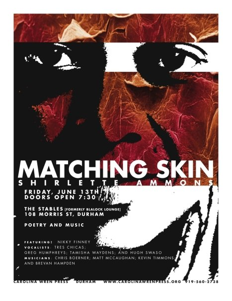 Matching Skin Launch Party Flyer